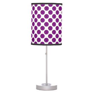 Paw Print Dot - Purple Table Lamp