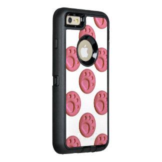 Paw Print Dot - Soft Pink OtterBox iPhone 6/6s Plus Case