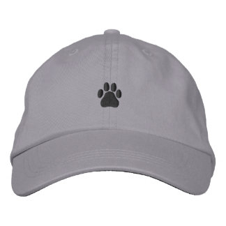 Paw Print Embroidered Hat