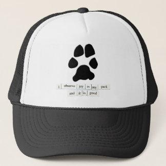 Paw Print Joy Trucker Hat