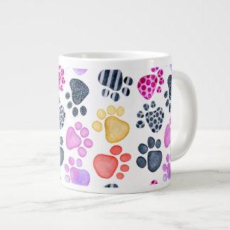 Paw Print Jumbo Mug