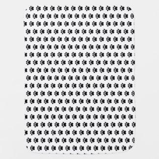 Paw Print Pattern Baby Blanket