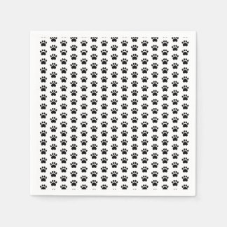 Paw Print Pattern Napkins