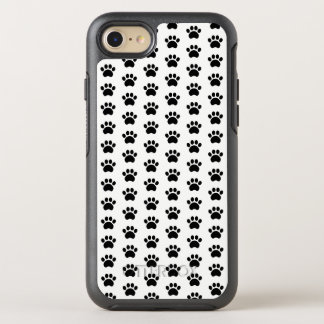 Paw Print Pattern OtterBox Symmetry iPhone 8/7 Case