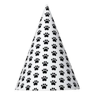 Paw Print Pattern Party Hat