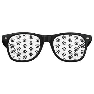 Paw Print Pattern Party Shades