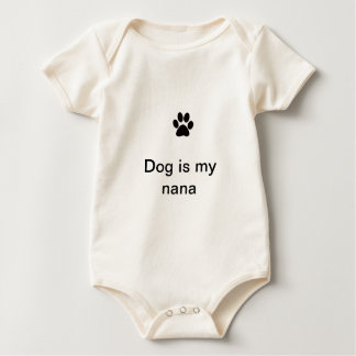 Paw print products baby bodysuit