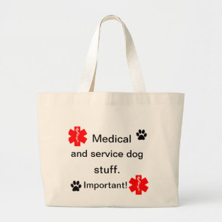 Paw print products large tote bag