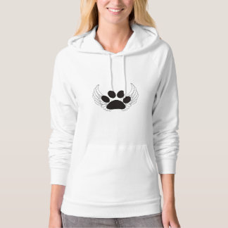 Paw Print with Wings Hoodie
