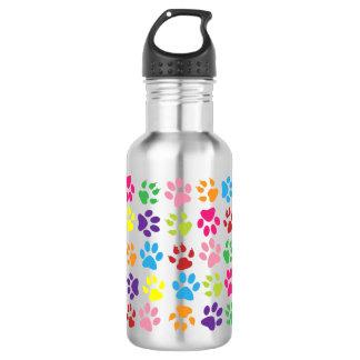 Paw Prints 532 Ml Water Bottle