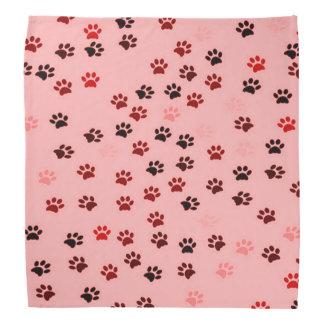 Paw Prints Bandana for Dogs