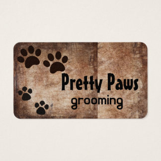 Paw Prints Business Card