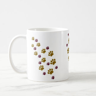 Paw Prints Coffee Mug