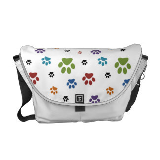Paw Prints Courier Bag