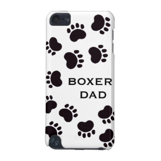Paw Prints Dog Dad Customizable Ipod Touch Case