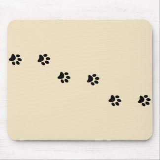 Paw Prints Mousepad