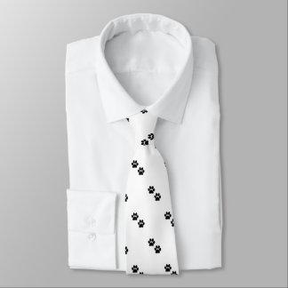 Paw Prints Necktie