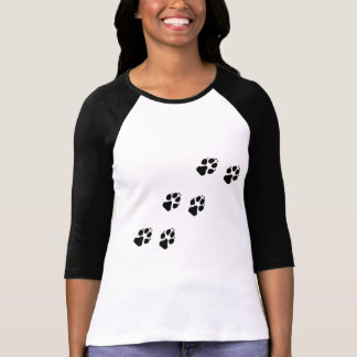 Paw prints of a dog T-Shirt