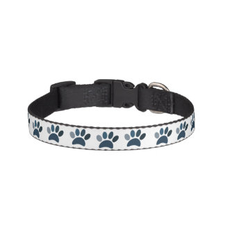 Paw prints on my Heart Pet Collar
