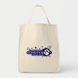 Paw Splash in Blue Tote Bag