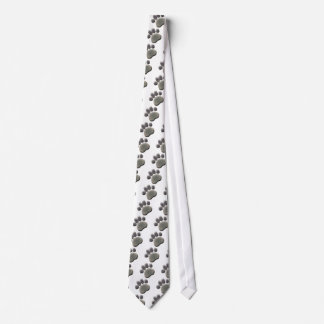 Paw Tracks Veterinarian Business Neck Tie