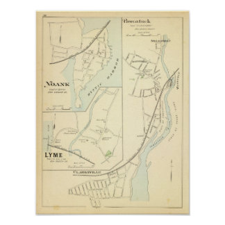 Pawcatuck, Noank, Lyme Poster