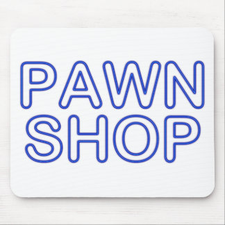 pawn shop : electric sign mouse pad