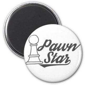 pawn star chess club 2 inch round magnet