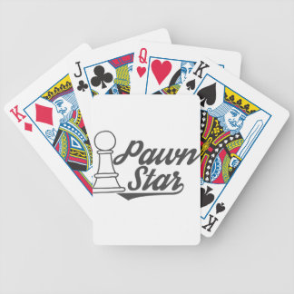 pawn star chess club bicycle playing cards