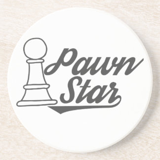pawn star chess club coaster