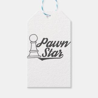 pawn star chess club gift tags