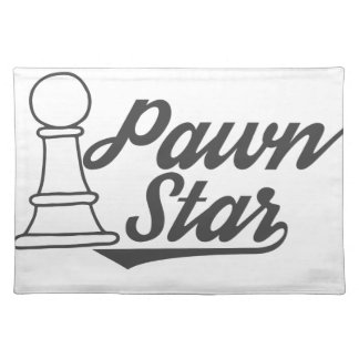 pawn star chess club placemat