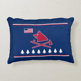 Pawnee people Nation Flag Decorative Pillow