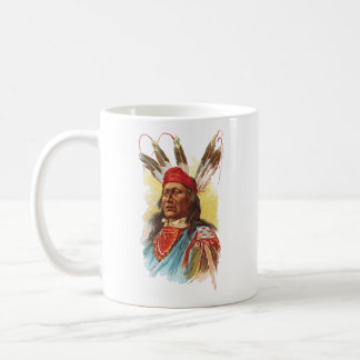 Pawnee Sioux Chief: Rushing Bear Coffee Mug