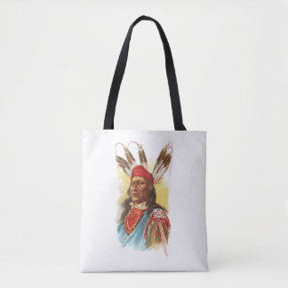 Pawnee Sioux Chief: Rushing Bear Tote Bag