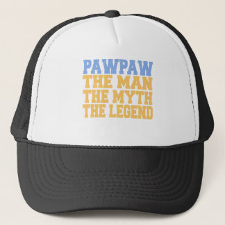 PawPaw (Blue-Yellow) Trucker Hat