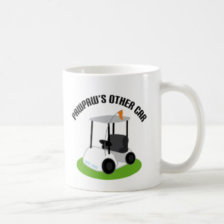 Pawpaws Other Car (Golf Cart) Coffee Mug