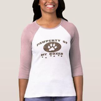 Pawperty_Boxer_zazzle2 T-Shirt