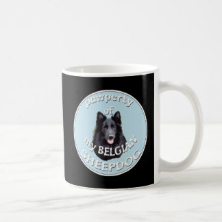 PAWPERTY OF BELGIAN SHEEPDOG COFFEE MUG