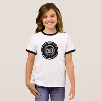 Pawprint Camera Girl's T-Shirt