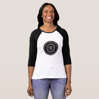 Pawprint Camera T-Shirt
