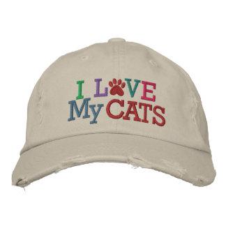 Pawprint Cap - Love My CATS! by SRF