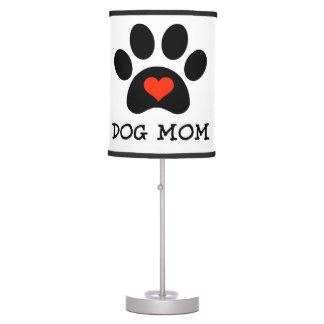 Pawprint Dog Mom Table Lamp
