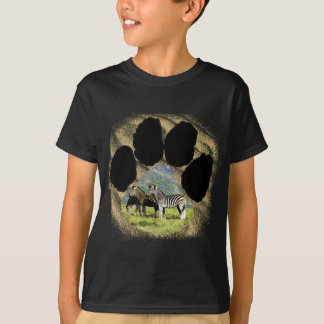 Pawprint of Africa Zebra Mountain T-Shirt