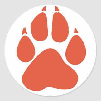 Pawprint Sticker