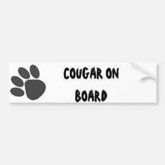 PawPrintLg Bumper Sticker