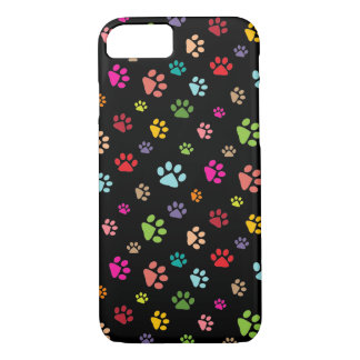 Pawprints Design iPhone 7 Case
