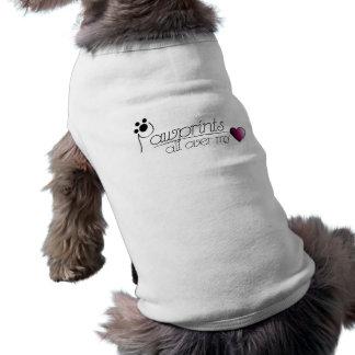 Pawprints - pet shirt