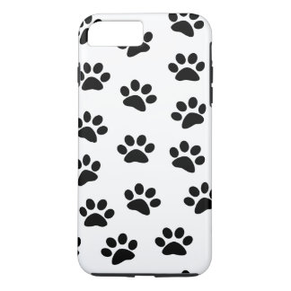 PAWPRINTS (puppy dog paw prints) ~.png iPhone 8 Plus/7 Plus Case