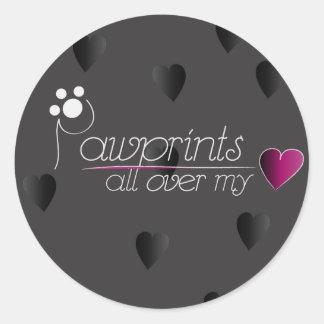 Pawprints - sticker
